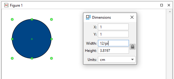 All numeric fields support expressions